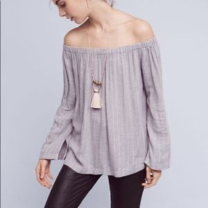 Anthropologie Cloth & Stone Homestead Top